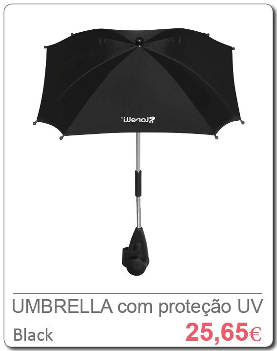 UMBRELLA UV Black