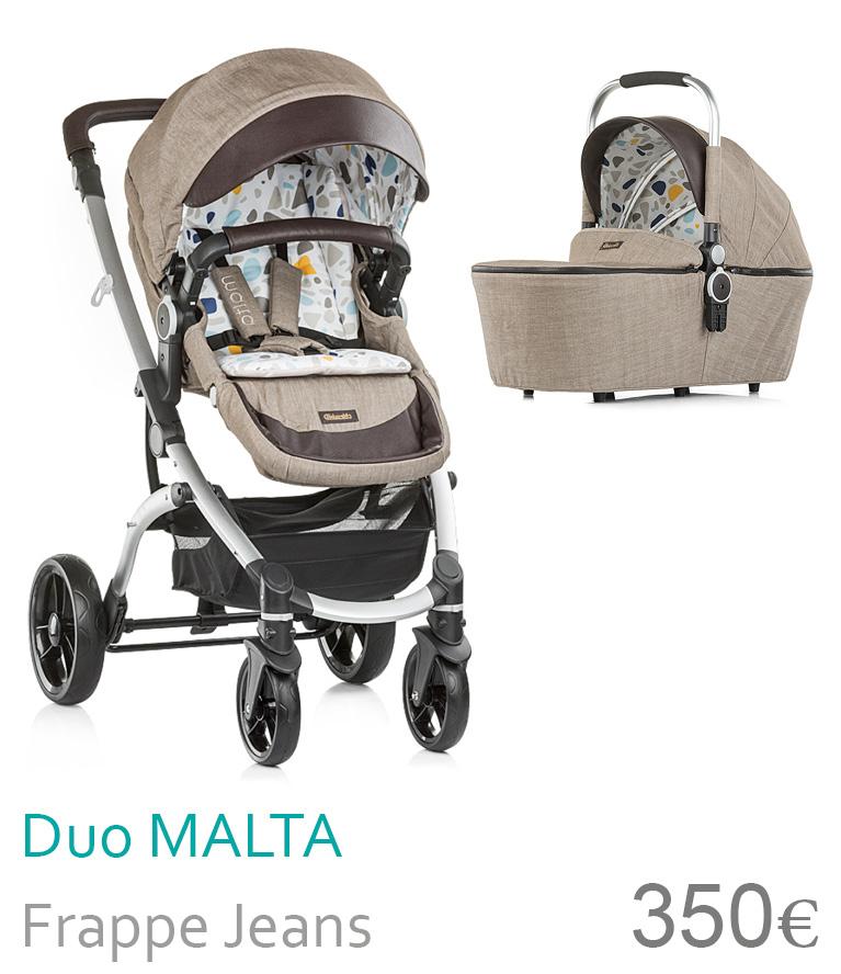 carrinho duo Malta Frappe