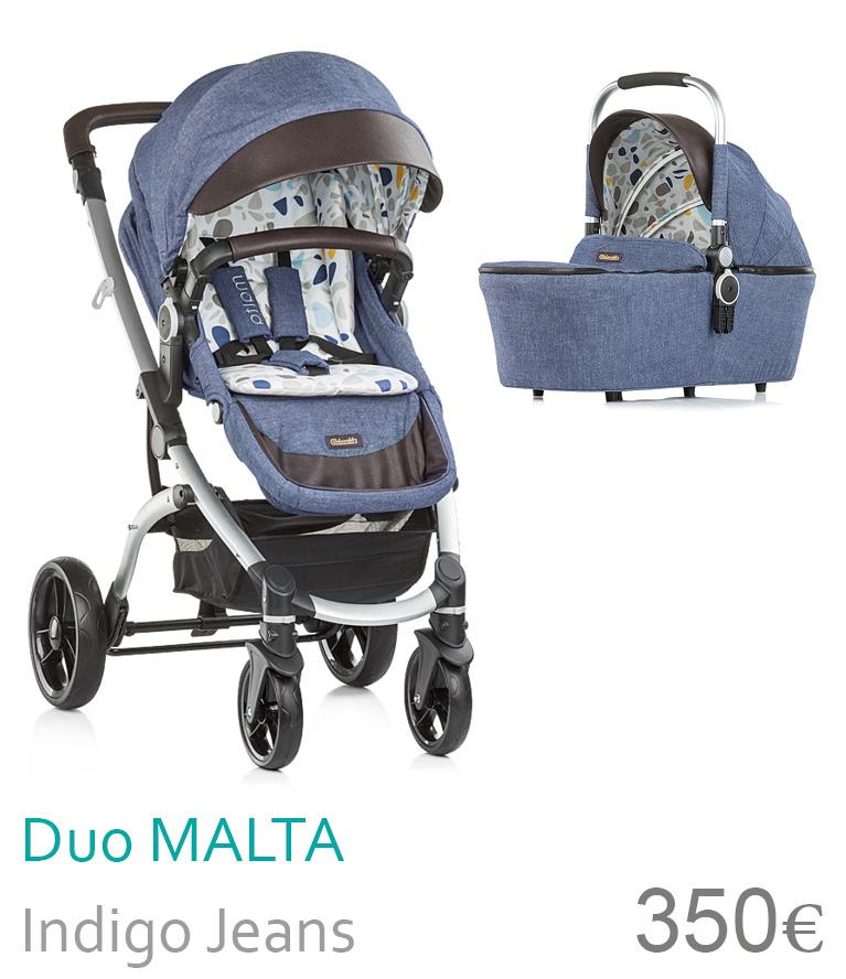 carrinho duo Malta Indigo Jeans