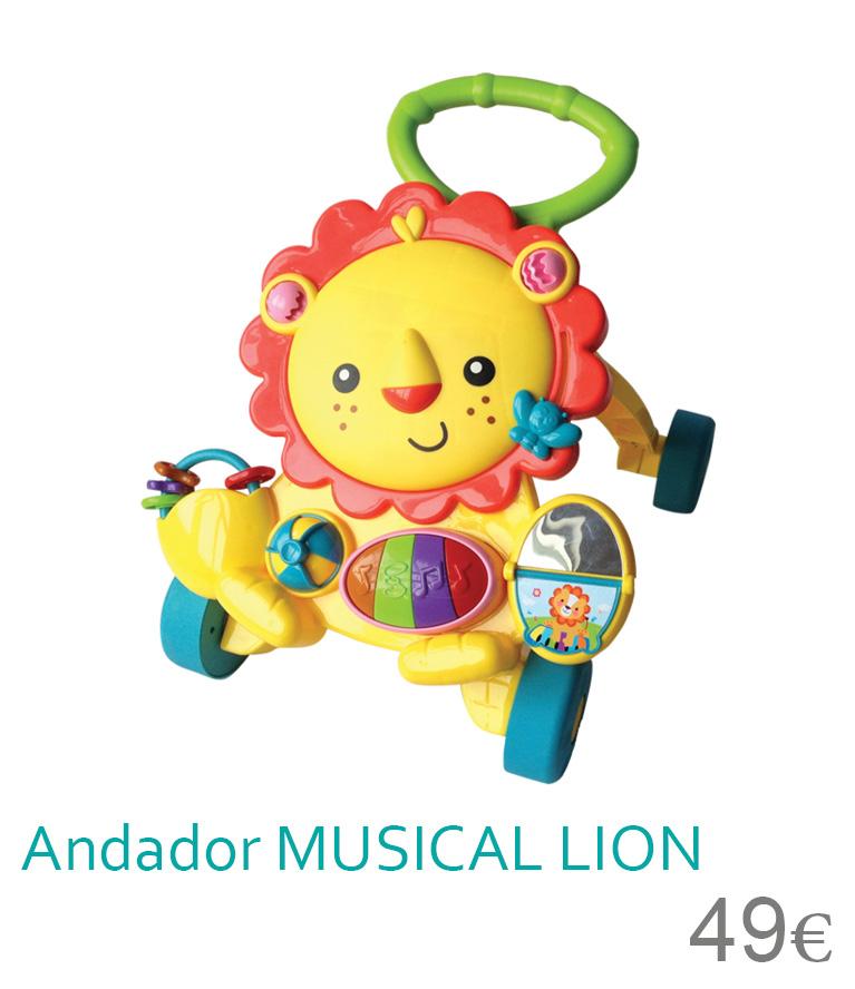 Andador Musical LION