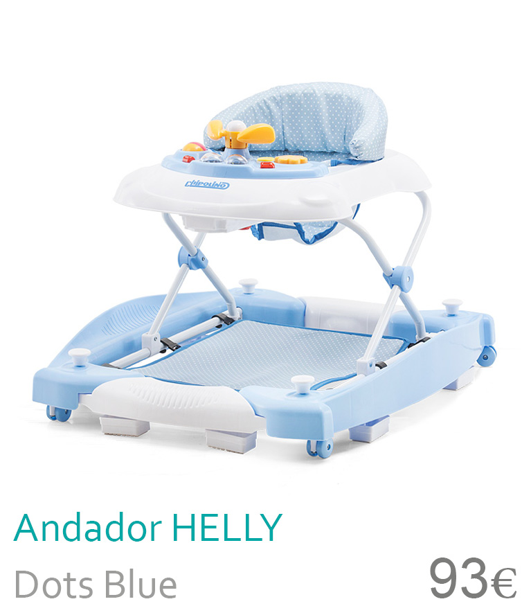 Andador HELLY Dots Blue