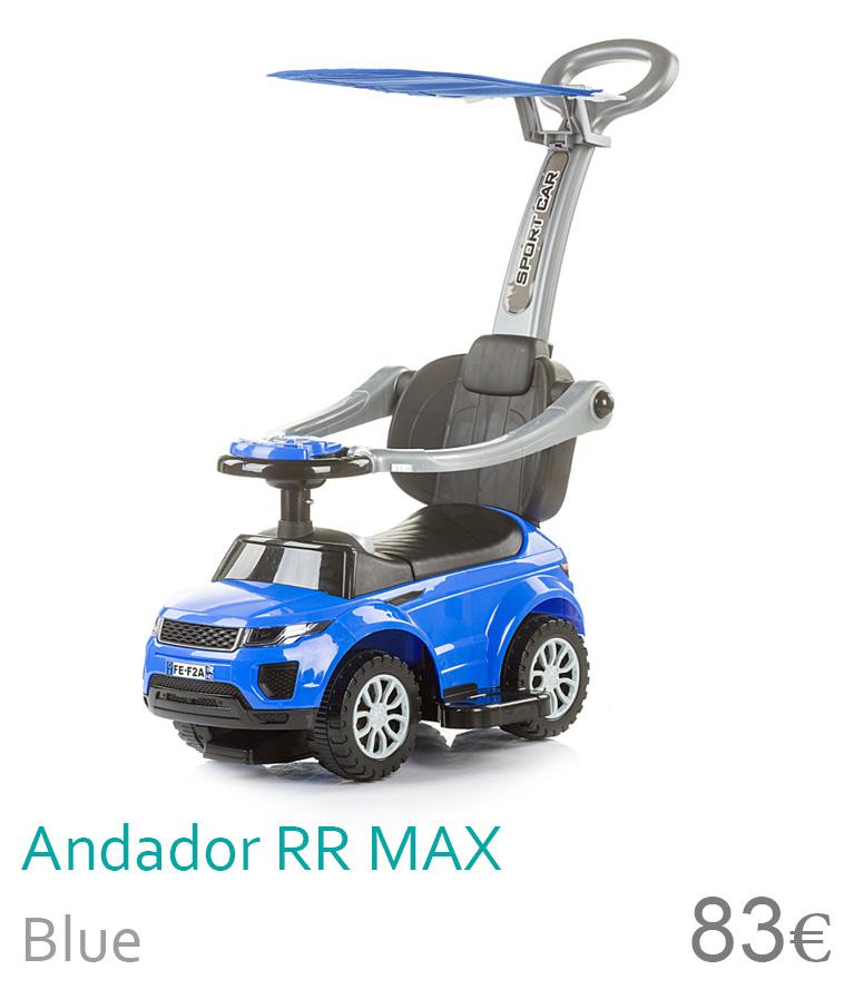 Andador RR Max com capota blue