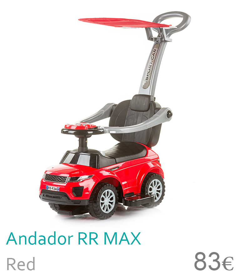 Andador RR Max red