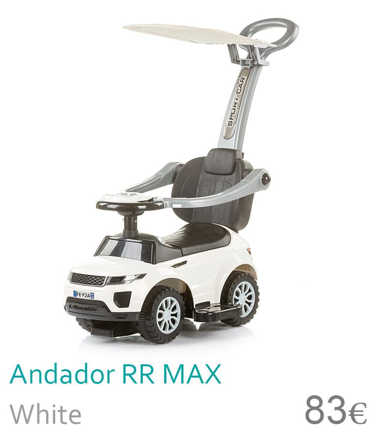 Andador RR MAX com capota White