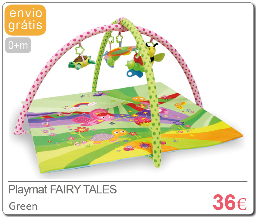 Playmat FAIRY TALES GREEN