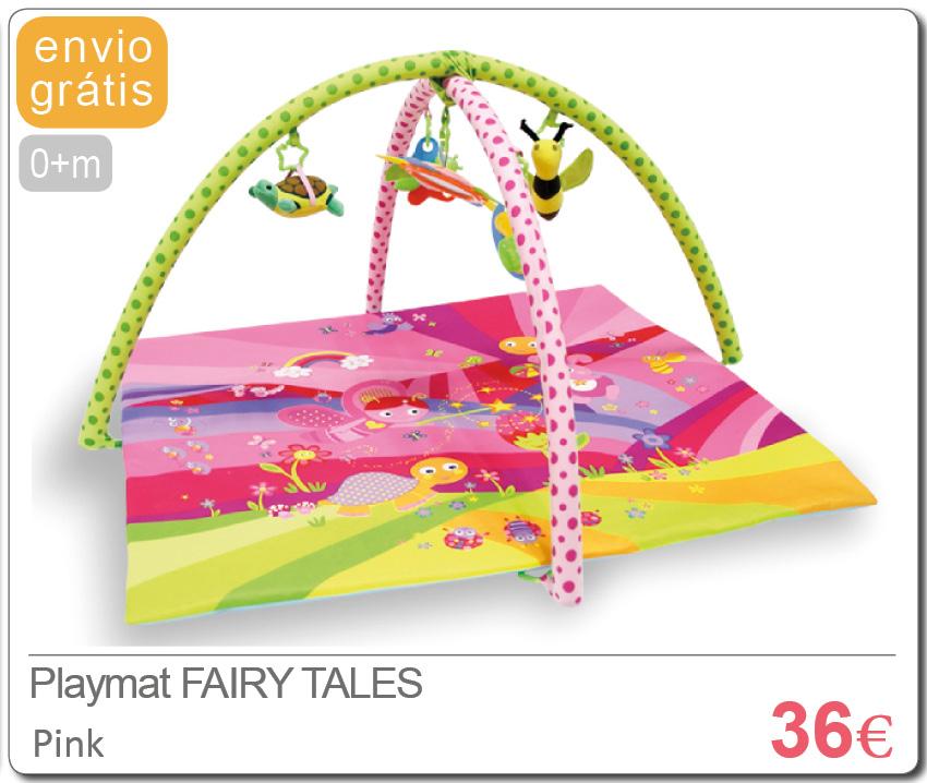 Playmat FAIRY TALES PINK