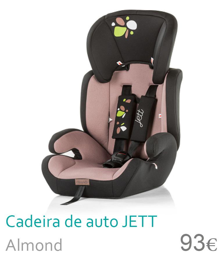 cadeira de auto Jett Almond
