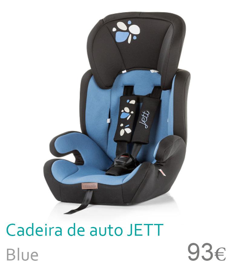 cadeira de auto Jett Blue
