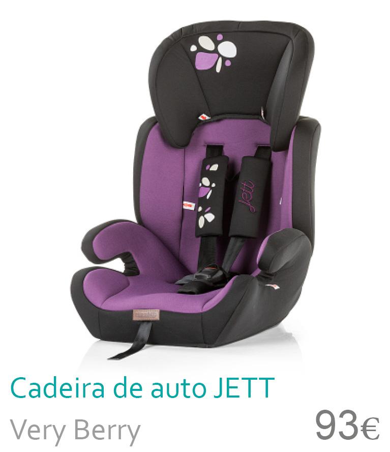 Cadeira de caro JETT Very Berry
