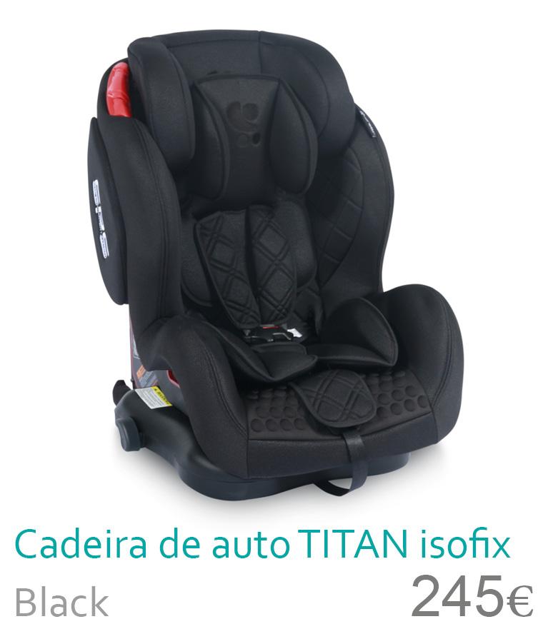 cadeira de auto TITAN Black