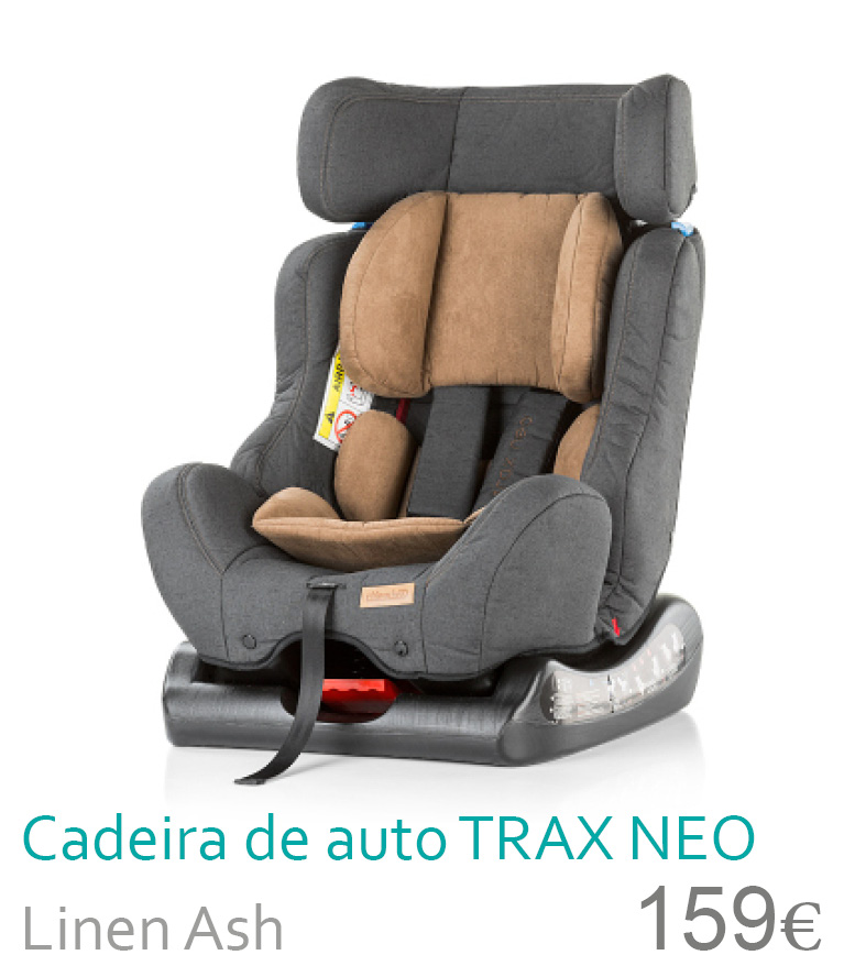 cadeira de auto Trax Neo Ash
