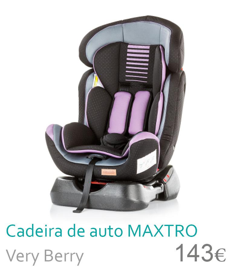 Cadeira de auto Maxtro Very Berry