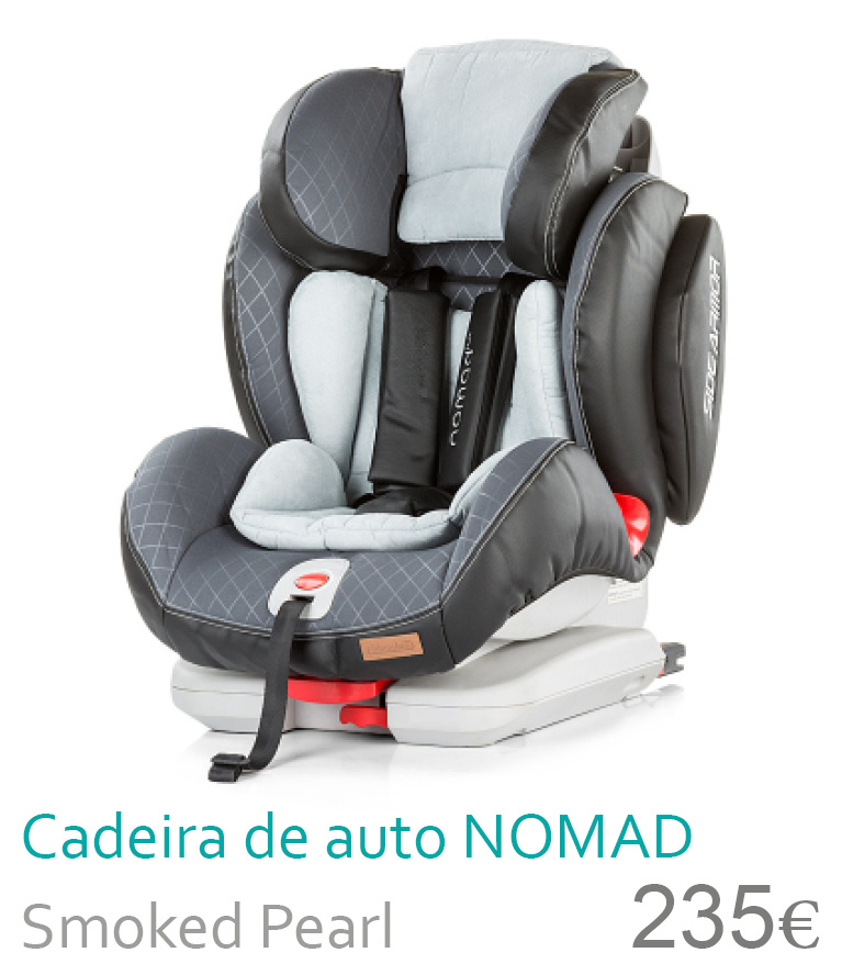 Cadeira de carro NOMAD Smoked Pearl