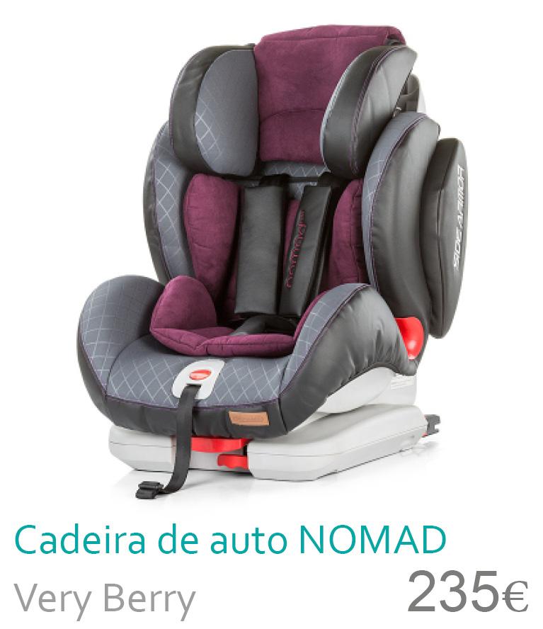 Cadeira de auto nomad very berry