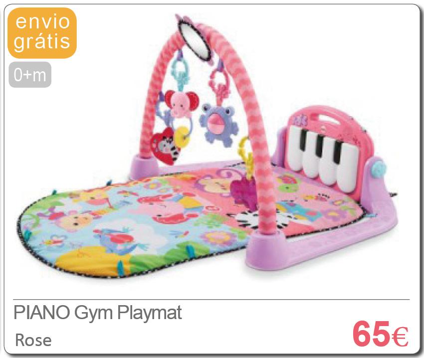 PIANO Gym Playmat PINK