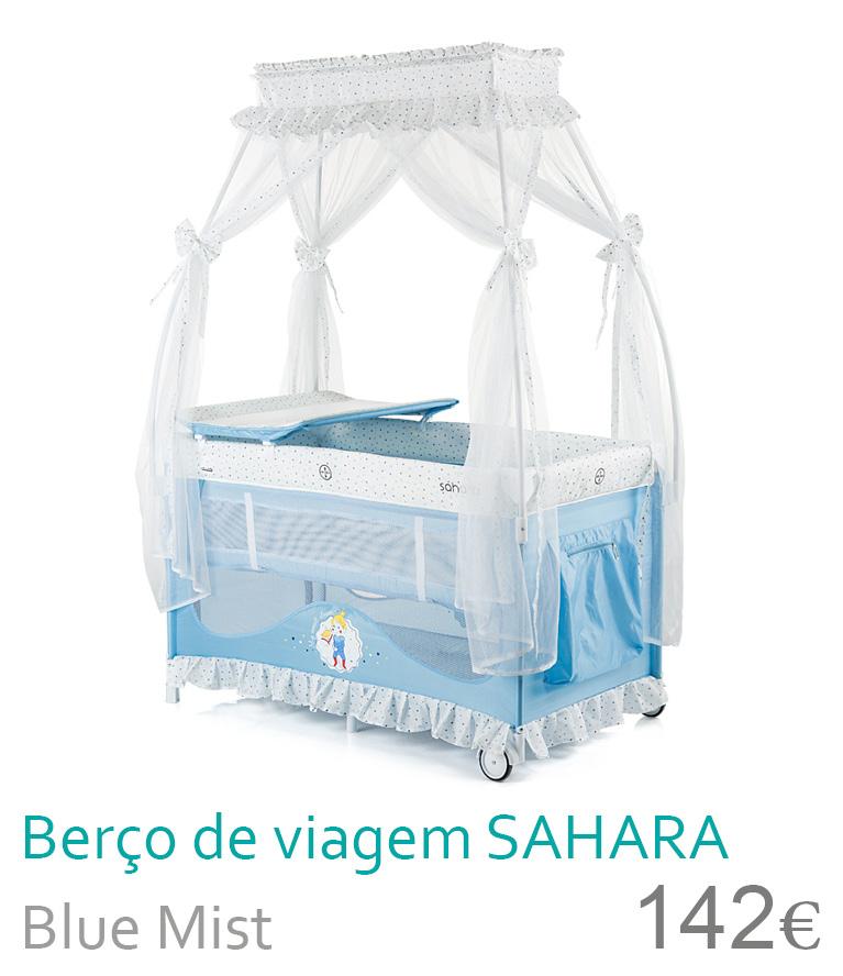 Berço de viagem SAHARA Blue Mist