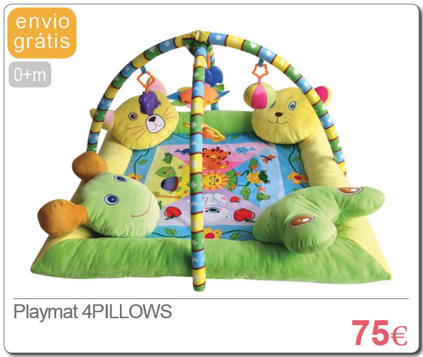 Playmat 4PILLOWS