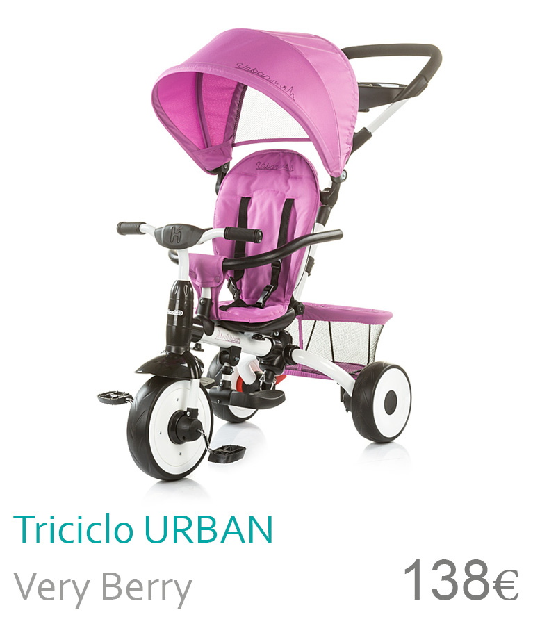 triciclo urban very berry