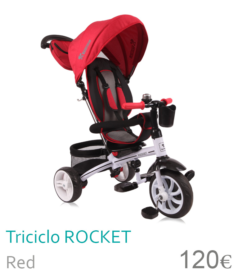 Triciclo ROCKET Red
