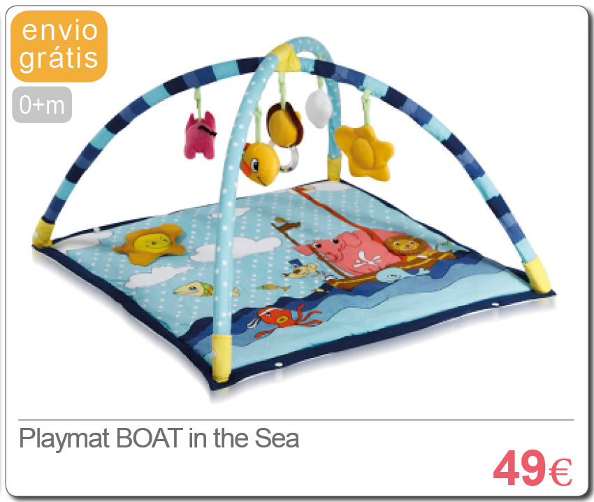 Playmat BOAT in the SEA