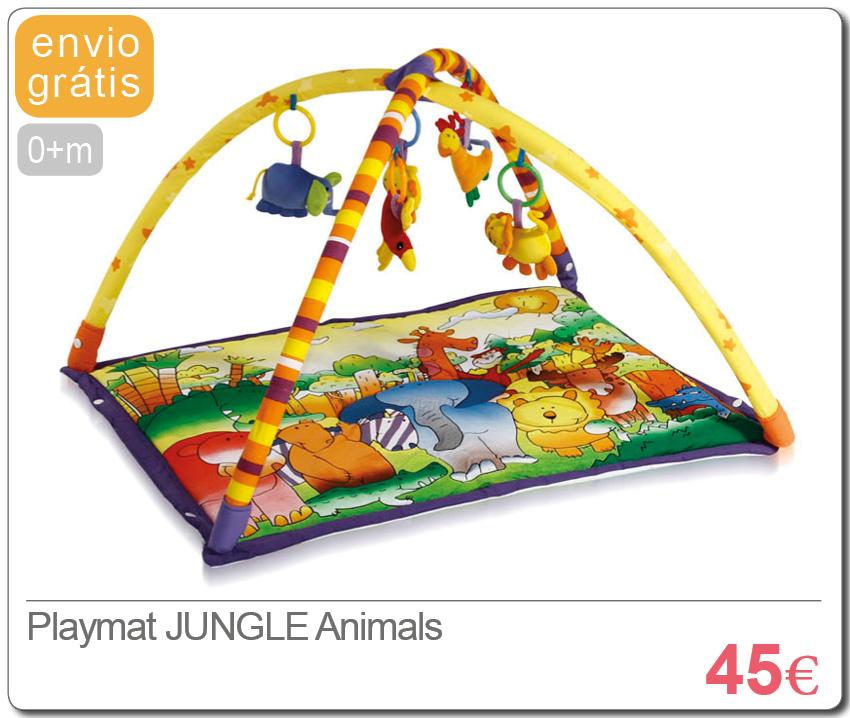 Playmat JUNGLE Animals