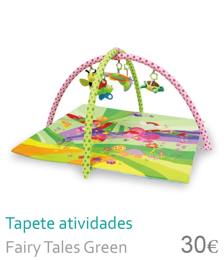 Tapete atividades FAIRY TALES Green