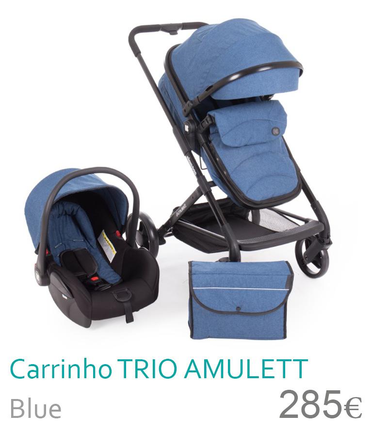 Carrinho trio conversível AMULETT