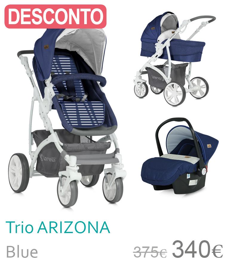 Carrinho trio Arizona blue