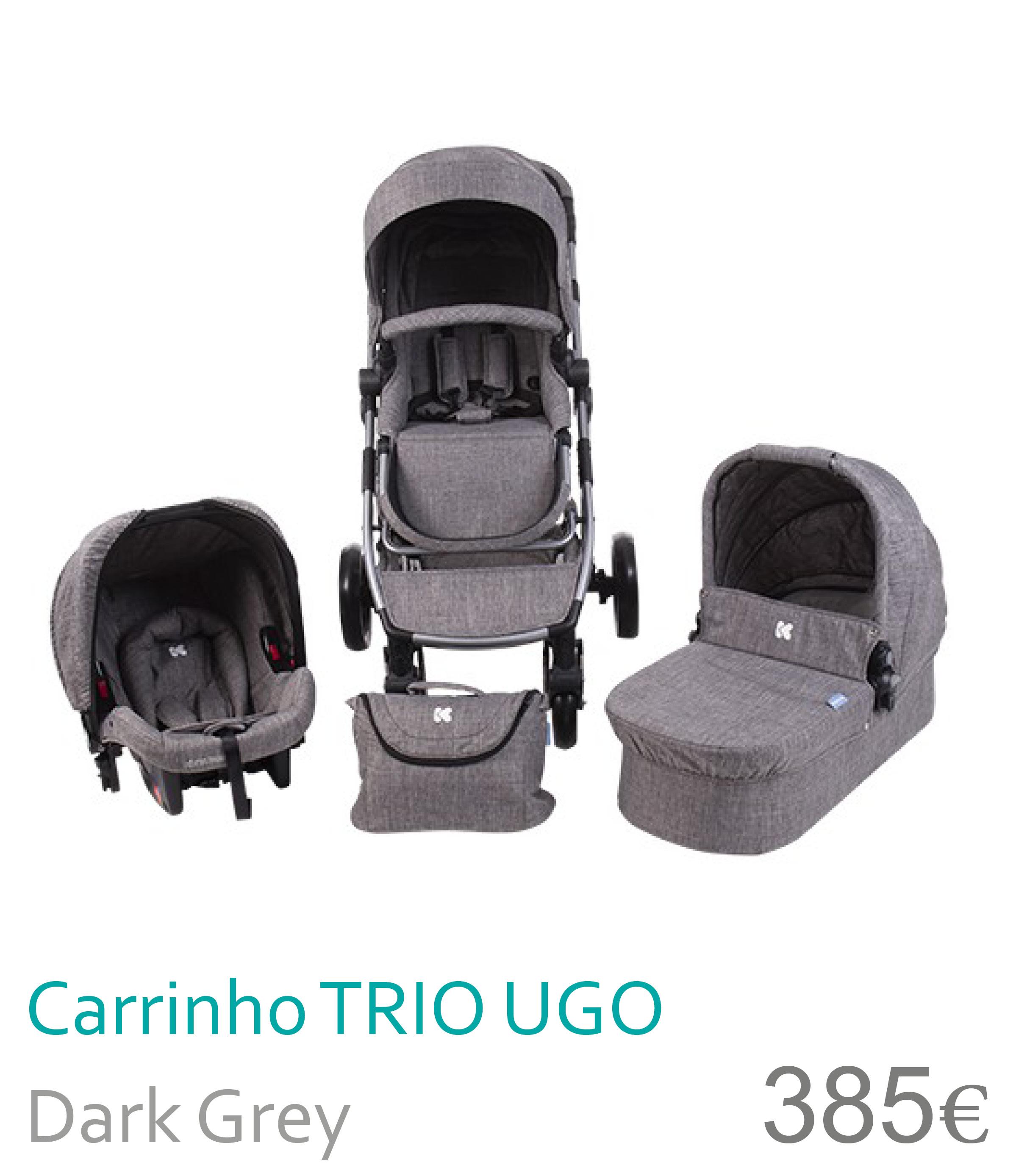 Carrito trio UGO Dark Grey