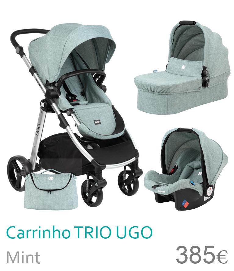 Carrinho trio UGO Mint