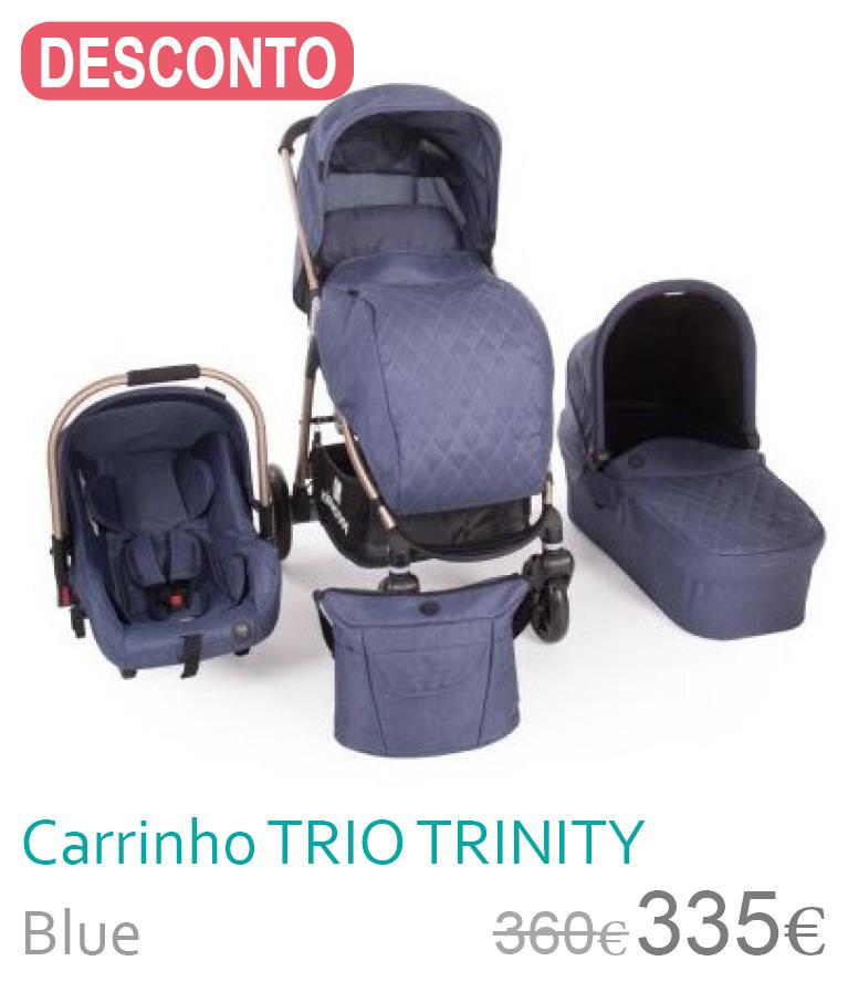 Carrinho trio TRINITY Blue