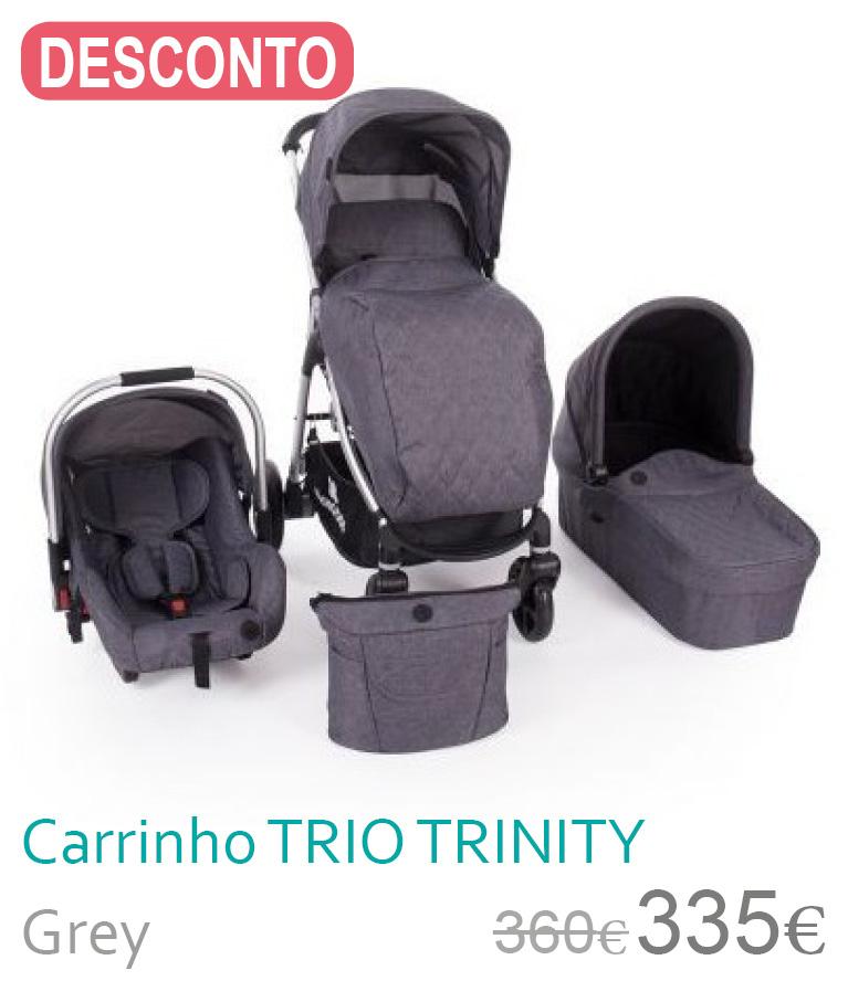 Carrinho trio TRINITY Grey