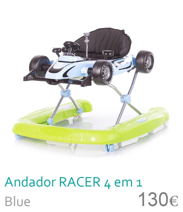 Andador RACER 4 em 1 Blue