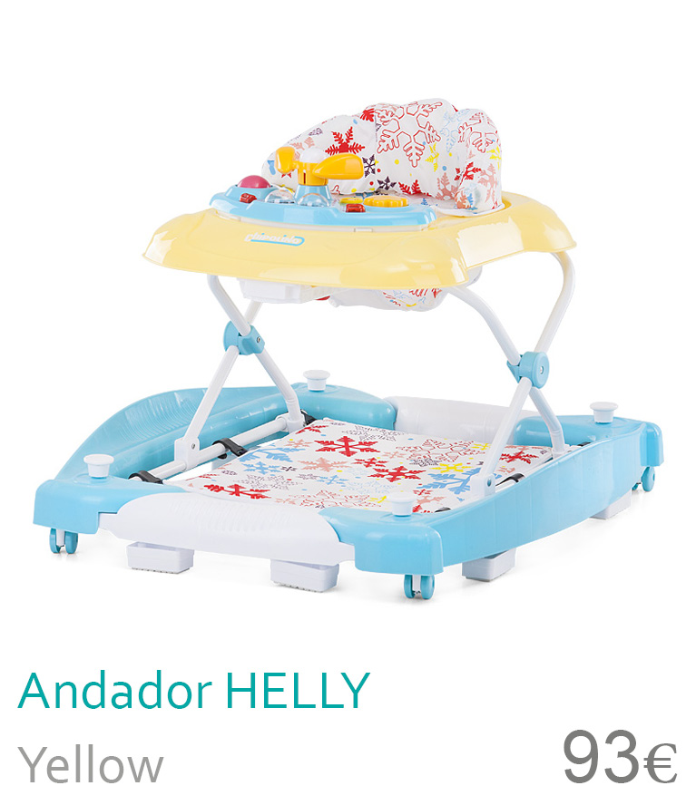 Andador HELLY Yellow