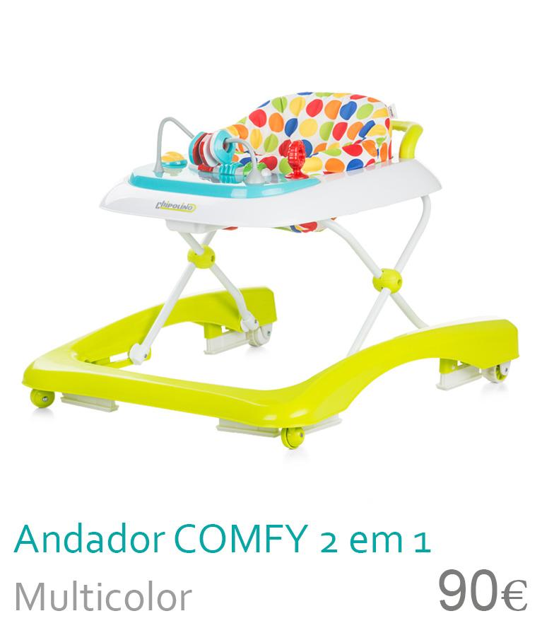 Andador COMFY 2 in 1 Multicolor