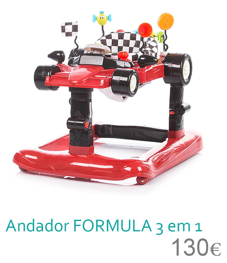 Andador Formula lux 3 em 1