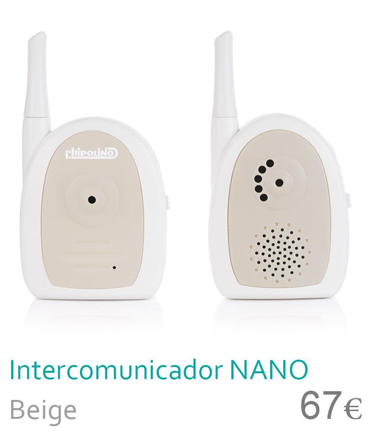 intercomunicador Nano Beige