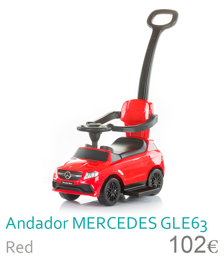 Andador MERCEDES GLE63 Red