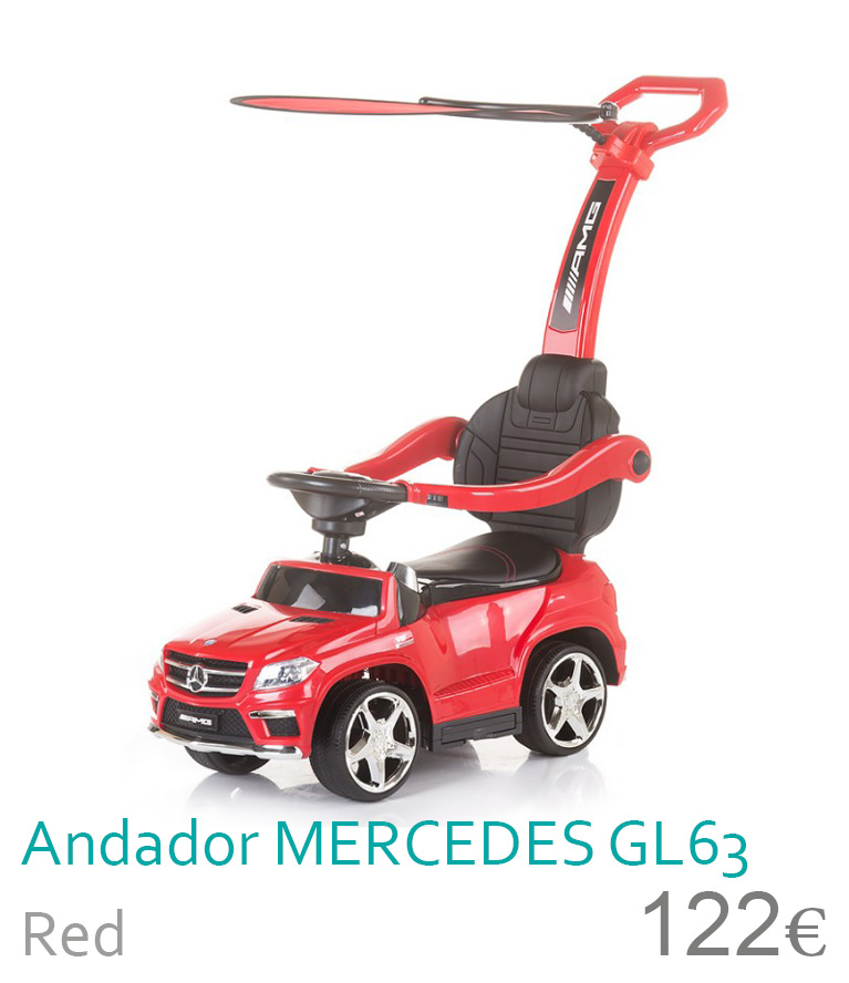 Andador Mercedes Gl63 Red