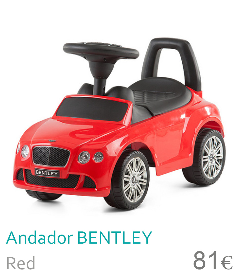 Andador BENTLEY CONTINENTAL Red