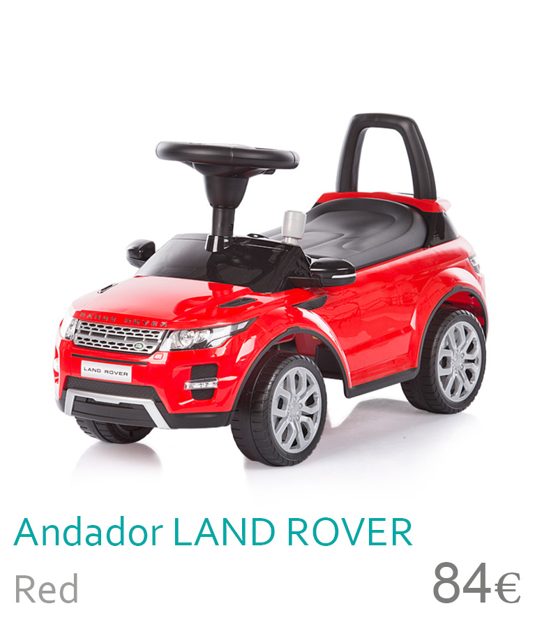 Andador Land Rover Red