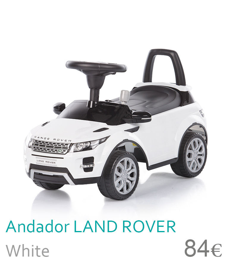 Andador Land rover White