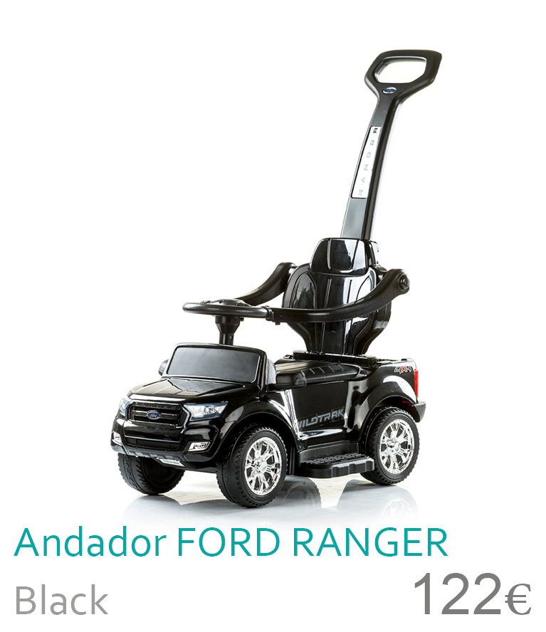 Andador FORD RANGER Black