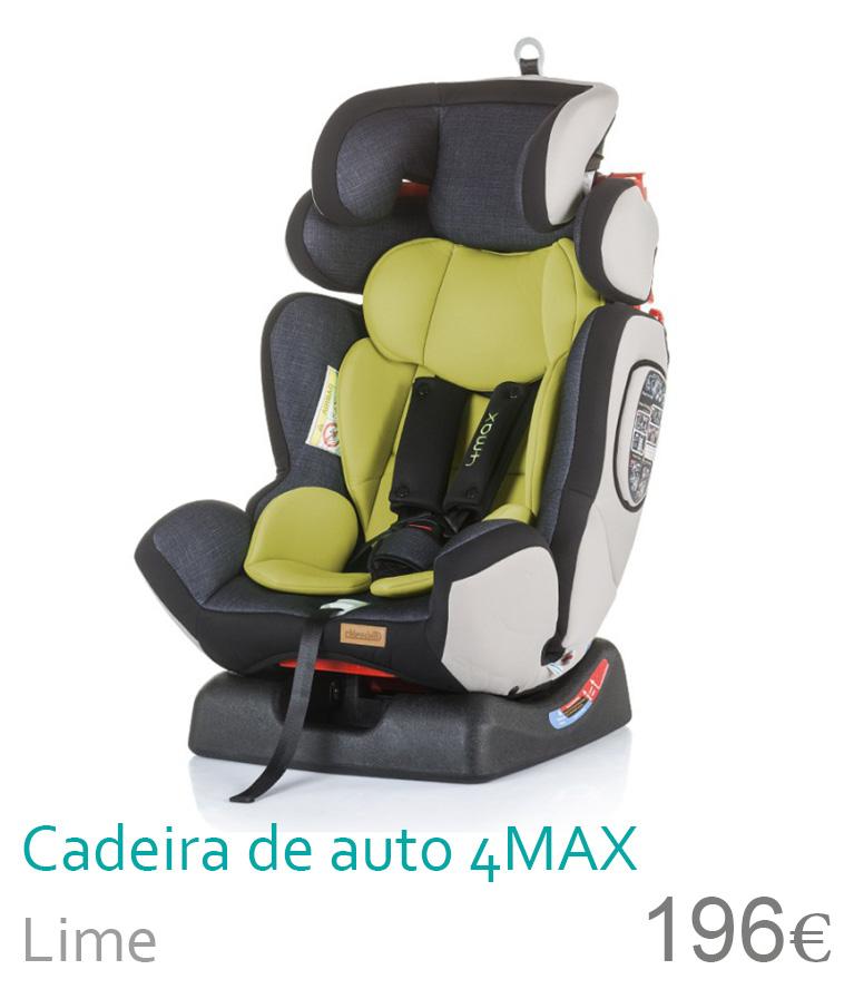 Cadeira de auto 4 MAX Lime
