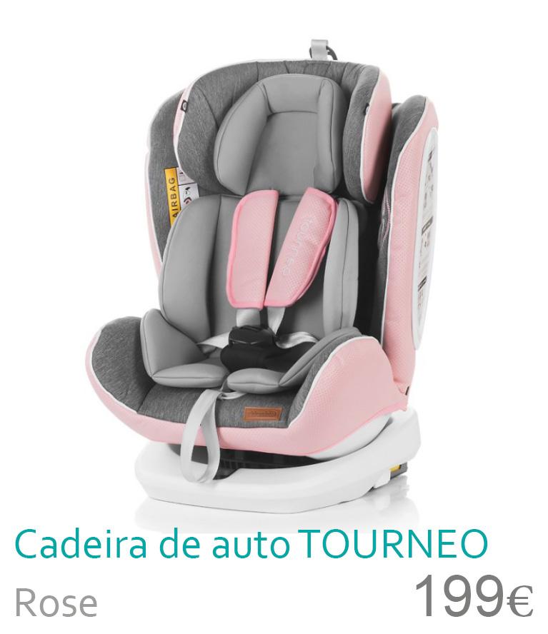 Cadeira de auto grupo 0-1-2-3 TOURNEO Rose