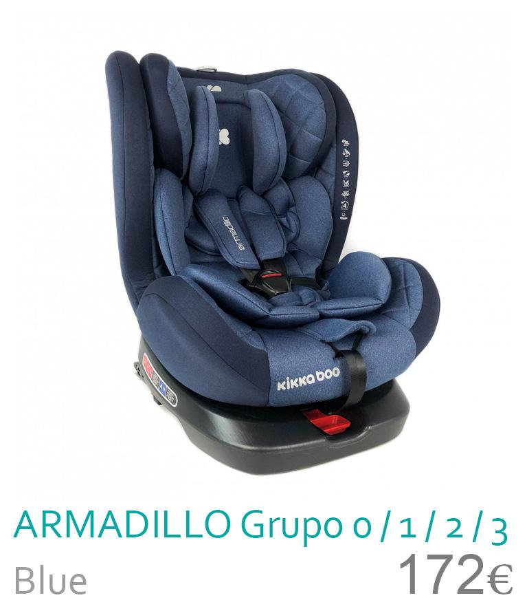Cadeira de carro grupo 0/1/2/3 ARMADILLO Blue