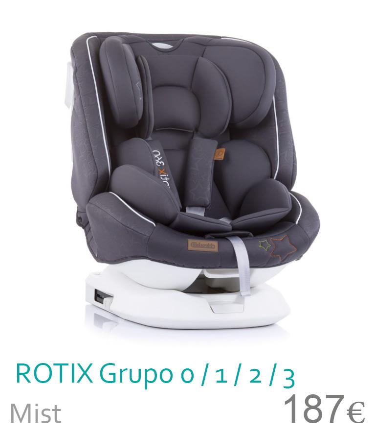 Cadeira de carro grupo 0/1/2/3 ROTIX Mist