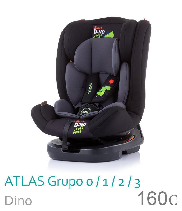 Cadeira de carro grupo 0/1/2/3 ATLAS Dino