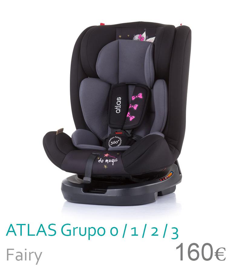 Cadeira de carro grupo 0/1/2/3 ATLAS Fairy