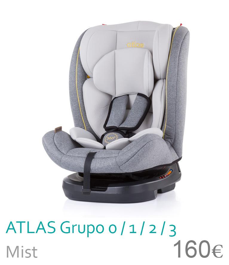 Cadeira de carro grupo 0/1/2/3 Mist